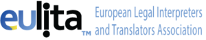 Logo of EULITA - European Legal Interpreters and Translators Association